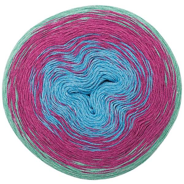 Rico Design Creative Cotton dégradé 200g 800m multicolor