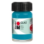 Marabu Glasfarbe 15ml petrol