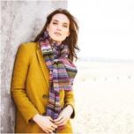 Strickset Schal Modell 21 aus aus Lovewool Nr. 9 Onesize