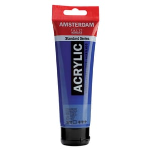 AMSTERDAM Acrylfarbe 120ml phthaloblau