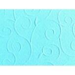 Marpa Jansen Prägekarton Arabesken 50x70cm 220g/m² hellblau