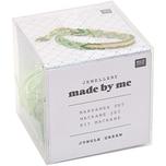Jewellery Made by Me Makrameeset jungle-green für 3 Armbänder