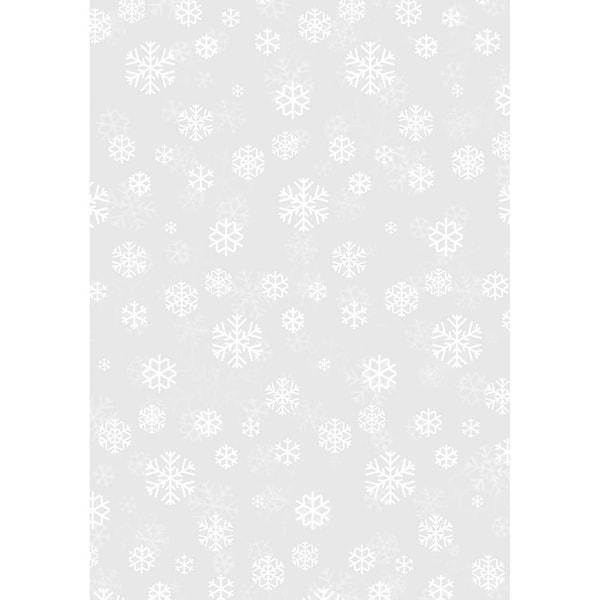 HEYDA Transparentpapier Schneekristalle 50x70cm 115g/m²