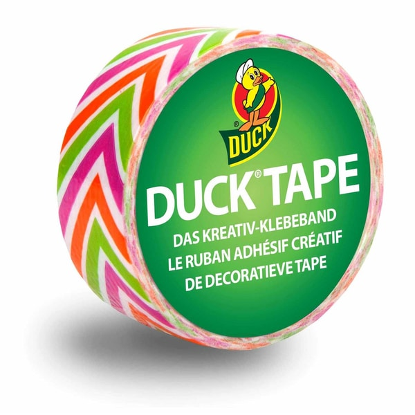 Duck Tape Klebeband 19mm 4,5m crazy neon
