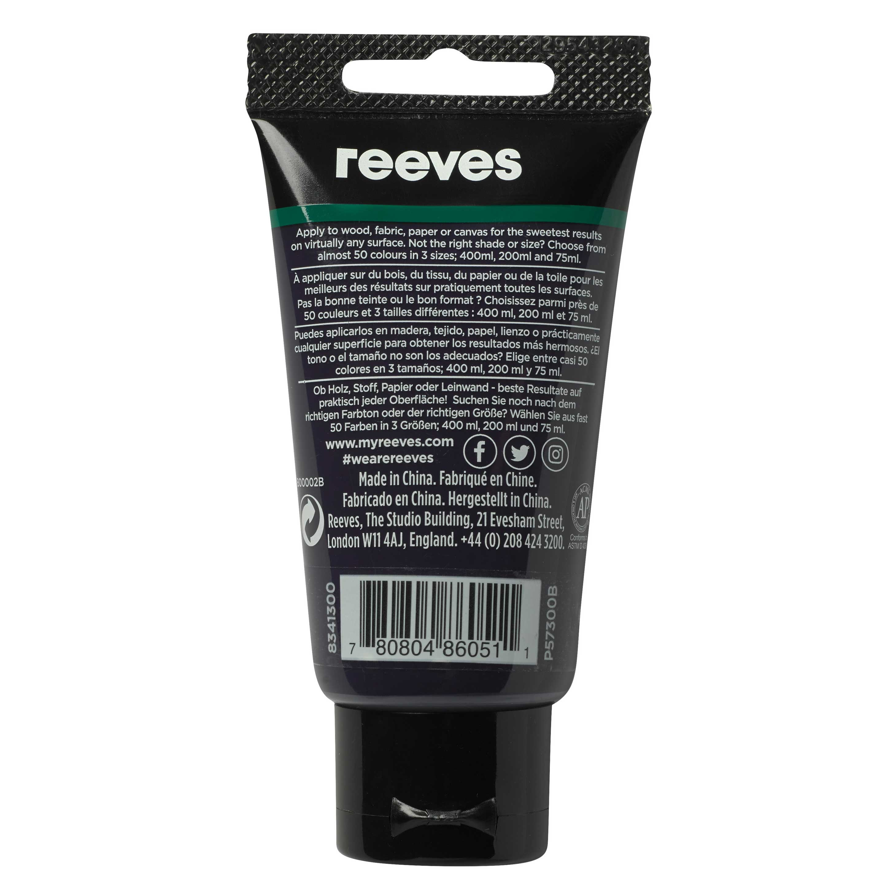 reeves Acrylfarbe 75ml violett