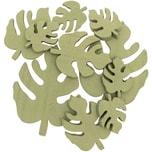 Monstera-Blätter aus Holz 10 Stück