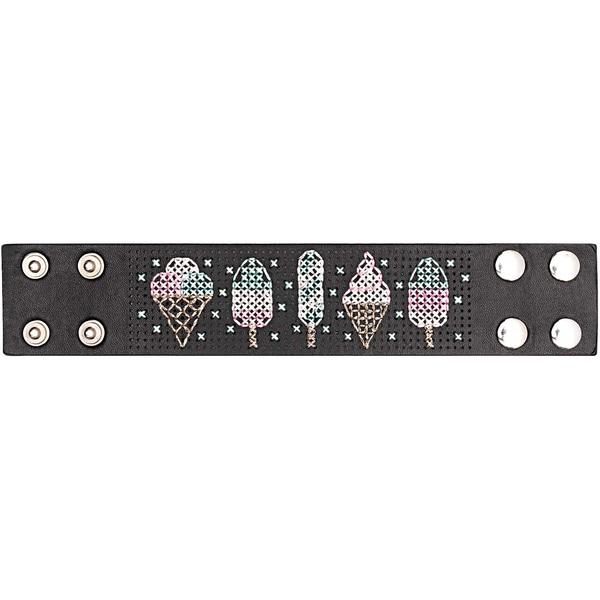Jewellery Made by Me Armband zum Besticken Set Eistüte 23,5x4,5cm