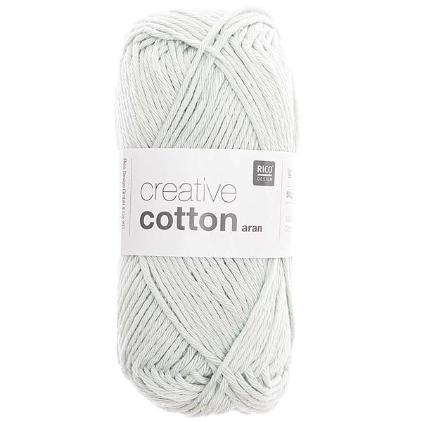 Rico Design Creative Cotton aran 50g 85m smokey blue