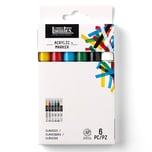 Liquitex Paint Acryl Marker Set fein 6 Stück