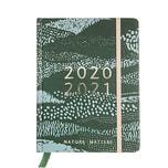 Paper Poetry Agenda 2020-2021 dunkelgrün 14x18x2,5cm