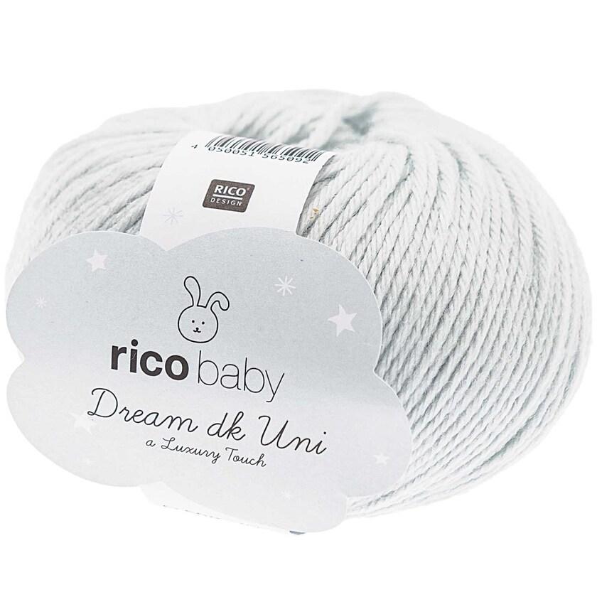 Rico Design Baby Dream dk uni - A Luxury Touch 50g 115m hellblau