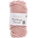 Rico Design Creative Cotton Cord Makramee-Garn puder 130g 25m