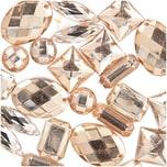Jewellery Made by Me Aufnähsteine Mix champagner 25 Stück