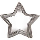Rico Design Keksausstecher Set Sterne 3 Stück