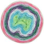 Rico Design Creative Cotton Dégradé Lucky 8 200g 800m pink-grün