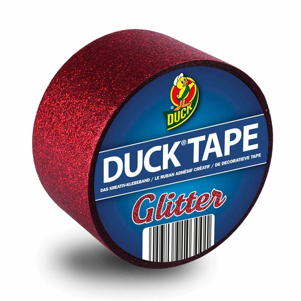 DuckTape Klebeband red glitter 48mm 4,5m