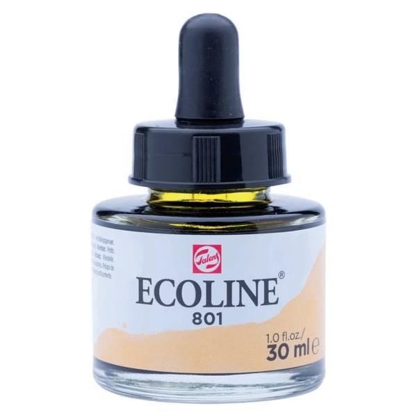 Ecoline flüssige Wasserfarbe 30ml gold