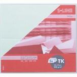 Artoz Tischkarte S-Line 200g/m² 5 Stück pastellgrün