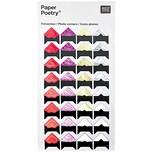 Paper Poetry Design Fotoecken mix 32 Stück
