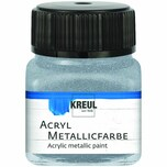 KREUL Acryl Metallicfarbe 20ml silber