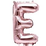 YEY! Let's Party Folienballon Buchstabe rosa 36cm E