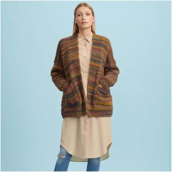 Strickset Jacke Modell 15 aus Die Neue Masche Nr. 15 Onesize
