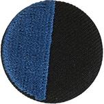 Jewellery Made by Me Button blau-schwarz 25mm