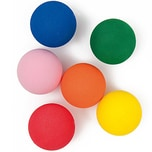 Rico Design Moosgummikugeln mehrfarbig 30mm 6 Stück
