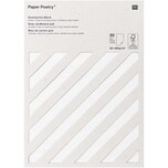 Paper Poetry Graukarton Block 30 Blatt 50-400g/m²