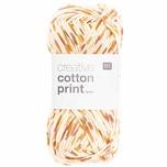 Rico Design Creative Cotton Print aran 50g 85m rot-orange spray