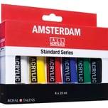 AMSTERDAM Acrylfarbe Set 6x20ml