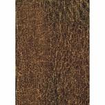 décopatch Papier crackle braun 3 Bogen