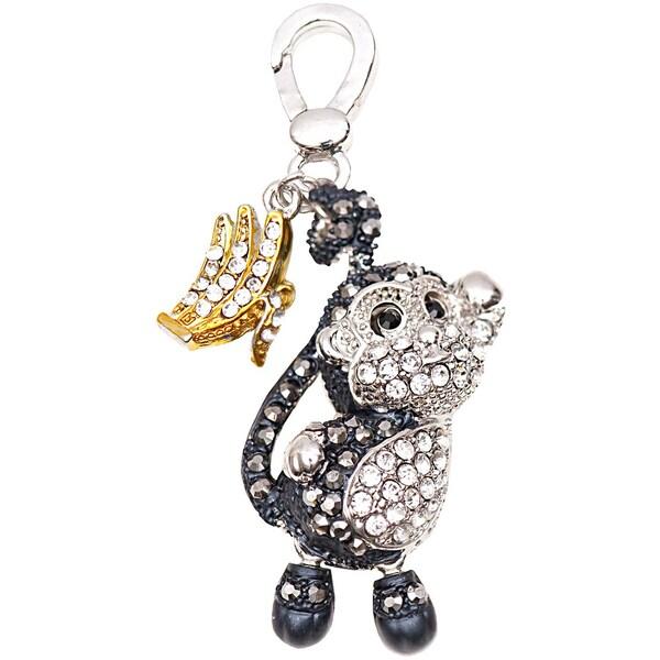 Jewellery Made by Me Big Charm Affe mit Strass 27x15mm