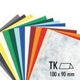 Artoz Tischkarte S-Line 200g/m² 5 Stück rot
