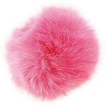 Rico Design Kunstfellbommel 10cm pink
