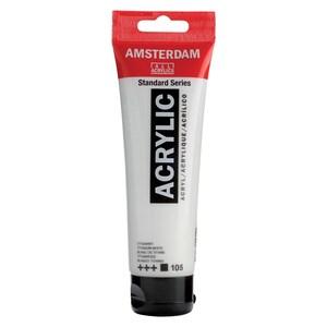 AMSTERDAM Acrylfarbe 120ml titanweiß