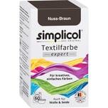 simplicol Textilfarbe expert 150g nußbraun