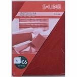 Artoz Kuvert S-Line C6 100g/m² 5 Stück weinrot