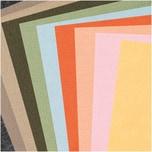 Made by Me Filzplattenset 1mm 20x30cm 10 Farben erdfarben
