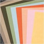 Made by Me Filz-Plattenset 1mm 20x30cm 10 Farben erdfarben