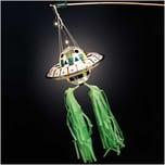 Rico Design Bastelset Ufo-Laterne grün 17teilig