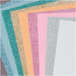 Made by Me Moosgummimix 2mm 20x30cm 10 Farben pastell glitter