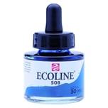 Ecoline Flüssige Wasserfarbe preußischblau 30ml