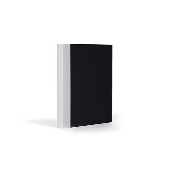 FANTASTICPAPER Notizbuch A6 kariert black-coolgrey
