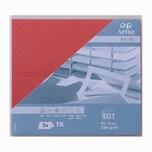 Artoz Tischkarte Serie 1001 220g/m² 5 Stück rot