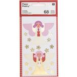 Paper Poetry Sticker Engel 4 Blatt