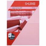 Artoz Doppelkarte S-Line A6 200g/m² 5 Stück pink