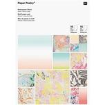 Paper Poetry Motivpapier Block marmoriert 21x30cm 30 Blatt