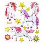 Hobby Fun XXL-Softy-Sticker Einhorn