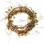 Blättergirlande grün-natur 120cm